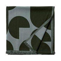 AYTM Forma Plaid 130 x 170 cm Woonaccessoires Groen