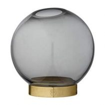 AYTM Globe Vaas Ø 10 cm Woonaccessoires Goud