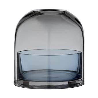 AYTM Tota Vaasje/Waxinelichthouder Ø 10 cm Woonaccessoires Blauw