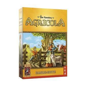 Agricola Familie-editie Bordspellen Multicolor Karton