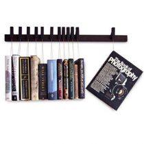 Agustav Boekenrek Hangende Boeken Wanddecoratie & -planken Bruin Hout