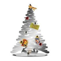 Alessi Bark for Christmas Kerstdecoratie Kerstassortiment Zilver RVS