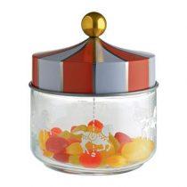 Alessi Circus Voorraadpot 0,5 L  Opbergen Zilver Glas