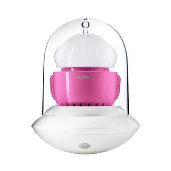 Alessilux Portable UFO Verlichting Roze Glas