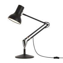Anglepoise 75 Bureaulamp Verlichting Zwart Aluminium