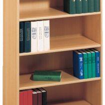 0.00 - Anika open Boekenkast L - Edel beuken - Kasten