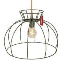 Anne Lighting Crinoline Hanglamp Verlichting Groen Staal