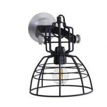 Anne Lighting Mark III Wandlamp Verlichting Zwart Staal