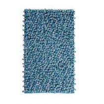 Aquanova Rocca Badmat 60 x 100 cm Badtextiel Blauw Katoen