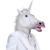 Archie McPhee Magical Unicorn Masker Eenhoorn Gadgets Wit Rubber