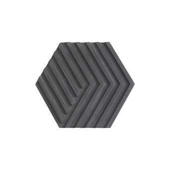 Areaware Table Tile Concrete Onderzetter Tafelpresentatie Zwart Beton
