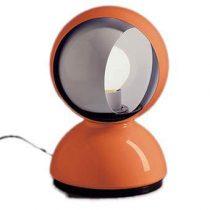 Artemide Eclisse Tafellamp Verlichting Oranje Aluminium
