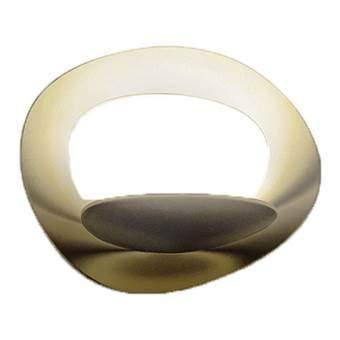 Artemide Pirce Micro Parete Wandlamp Verlichting Goud Aluminium