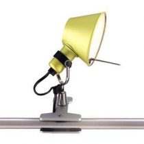 Artemide Tolomeo Micro Pinza Spotlamp Verlichting Geel Aluminium