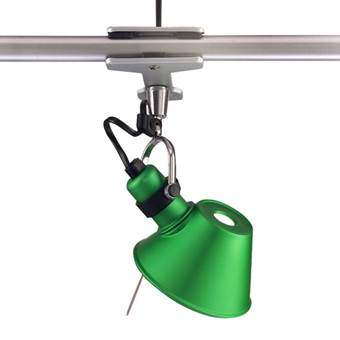 Artemide Tolomeo Micro Pinza Spotlamp Verlichting Groen Aluminium