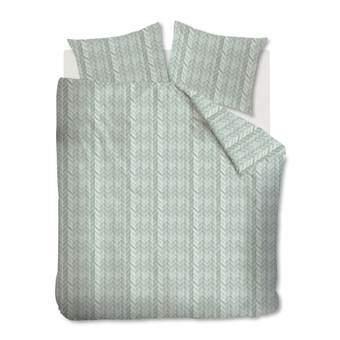 At Home Fold Dekbedovertrek 240 x 220 cm Slapen & beddengoed Groen Katoen