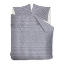 At Home Wools Dekbedovertrek 200 x 220 cm Slapen & beddengoed Grijs Flanel