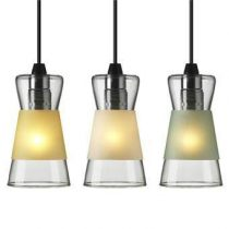 Authentics Hanglamp Pure Verlichting Geel Glas