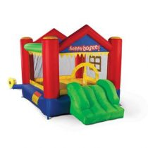 Avyna Springkussen Party House Fun 3-1 Buitenspeelgoed Multicolor Polyester