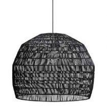 Ay Illuminate Nama 3 Hanglamp Verlichting Zwart Rotan