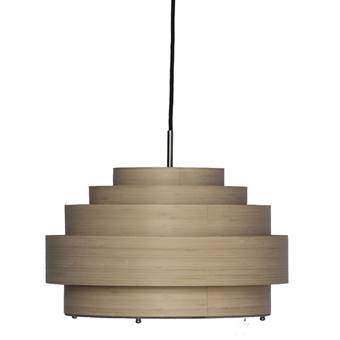 Ay Illuminate Thin Wood Hanglamp S Verlichting Beige Bamboe