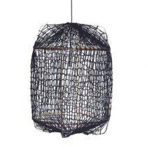 Ay Illuminate Z1 Jersey Hanglamp Verlichting Zwart Bamboe
