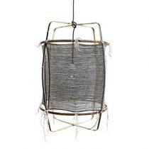 Ay Illuminate Z11 Hanglamp Verlichting Zwart Bamboe
