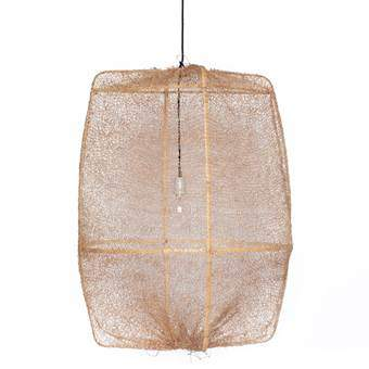Ay Illuminate Z2 Ona Sisal Hanglamp Verlichting Beige Bamboe