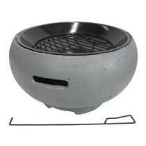 BBGrill TUB-G Draagbare BBQ Barbecues Grijs Staal