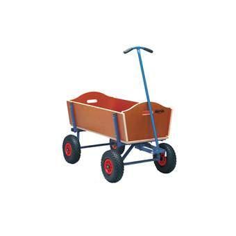 BERG Beach Wagon L Bolderkar Buitenspeelgoed Blauw