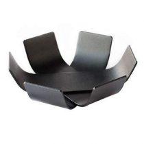 BEdesign Lily Mini Schaal Set van 2 Woonaccessoires Zwart Staal