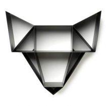 BEdesign Wolf Metal Wandplank Wanddecoratie & -planken Zwart Staal