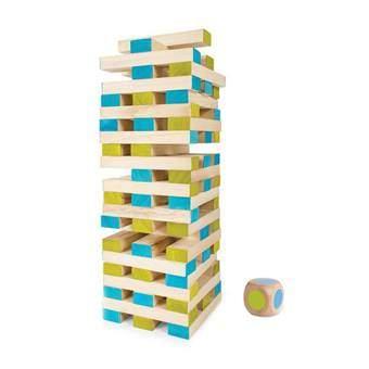 BS® Grote Toren met Dobbelsteen Buitenspeelgoed Blauw