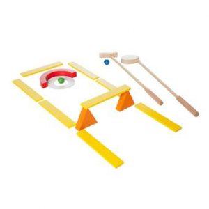 BS® Mini Golf Buitenspeelgoed Multicolor Hout