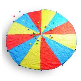 BS® Parachute Buitenspeelgoed Multicolor Nylon