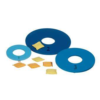 BS® Pittenzak Werpen Buitenspeelgoed Blauw Hout