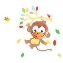 BabyZoo Momo Wandlamp Baby & kinderkamer Multicolor Kunststof