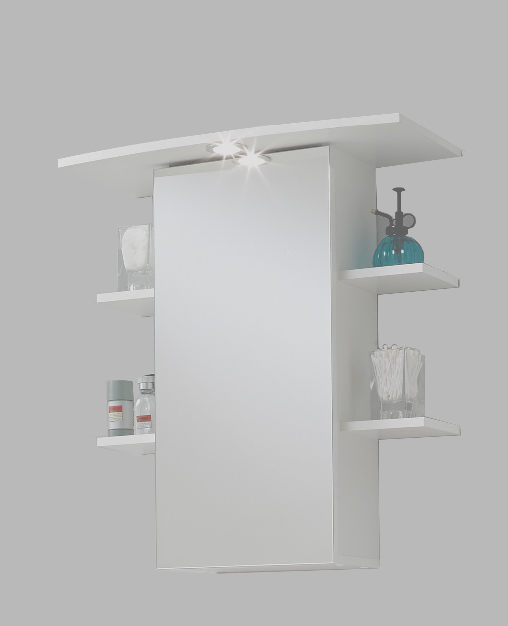 Badkamer spiegelkast Madrid 8 - Wit - Woon Woon