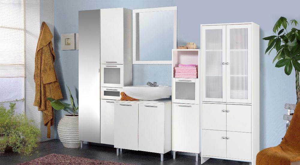 Badkamerkast Op Poten : Badkamerkast belly wit met spiegeldeur young furniture