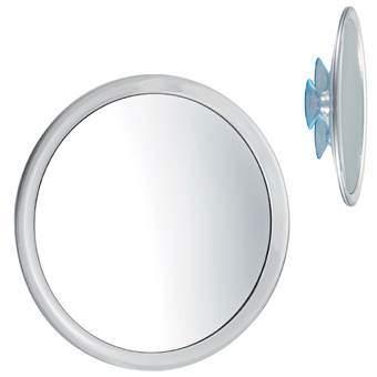 Balvi Badkamerspiegel met zuignap Badkameraccessoires Wit Glas