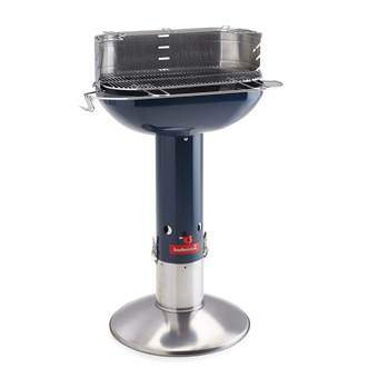 Barbecook Arena Midnight Barbecues Blauw RVS