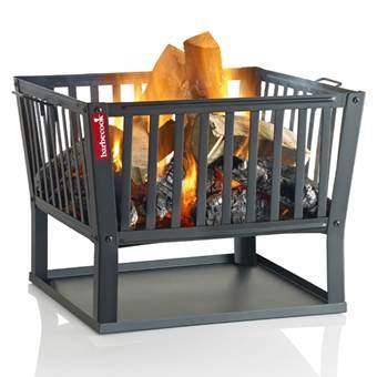 Barbecook Classic Squadra Vuurkorf Terrasverwarming Zwart Staal