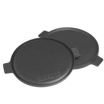 Barbecook Contactplaat Ø 35 cm Barbecue accessoires Zwart Gietijzer