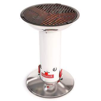 Barbecook Largo Barbecues Wit Emaille
