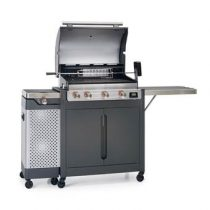 Barbecook Quisson 4000 Barbecues Grijs Staal
