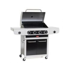 Barbecook Siesta 412 - Black Edition Barbecues Zwart Staal