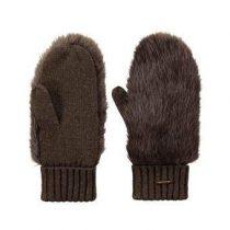 Barts Amaranth Wanten Fashion accessoires Bruin Nylon