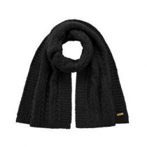Barts Anemone Sjaal Fashion accessoires Zwart Acryl