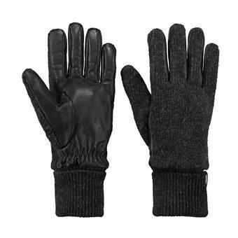 Barts Bhric Handschoenen Fashion accessoires Zwart Leder