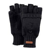 Barts Haakon Black Handschoenen Fashion accessoires Zwart Wol
